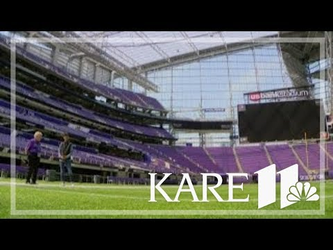 Touring The U.S. Bank Stadium With Bev