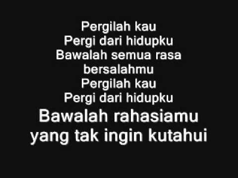 ▶ Sherina   Pergilah Kau Lirik)   YouTube