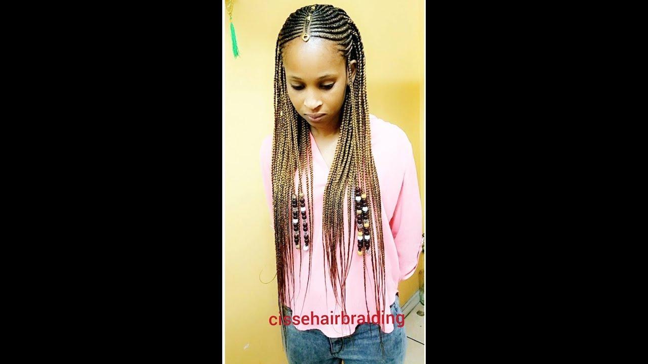 Instagram Trend Summer Braids  Fulani Inspired Braids