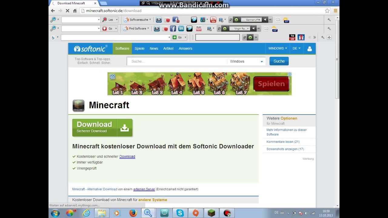 Minecraft Free Download YouTube - Minecraft spiele free download