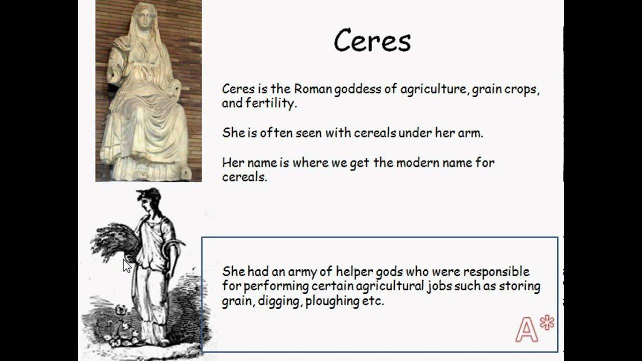 Ceres - Roman Goddess