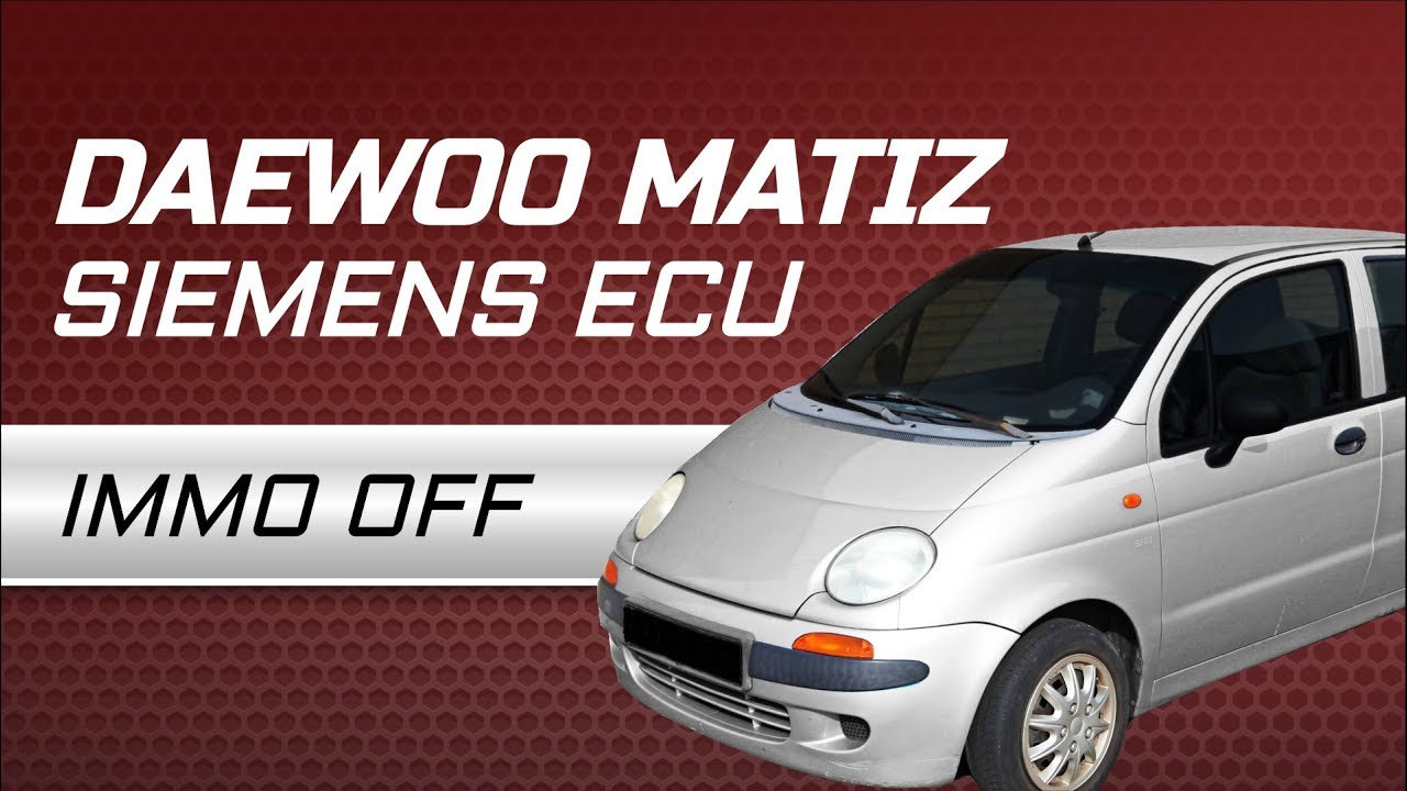 medium resolution of daewoo matiz siemens ecu immo off with julie emulator by carlabimmo