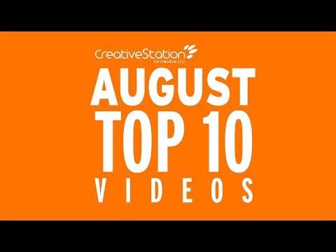 CreativeStation August 2017 Top 10 Video Arts