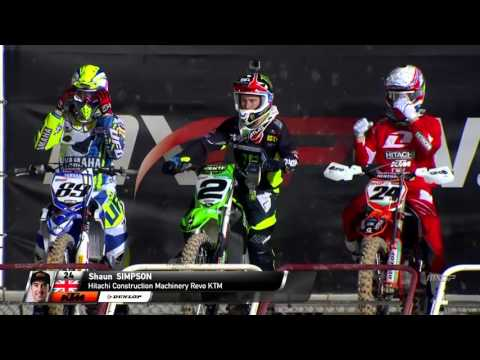 MXGP of Qatar 2015  FULL Replay MXGP Race 2