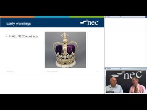 NEC Early Warnings Webinar