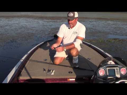Capt Mike Carter Snagproof Frog Fishing on Lake Guntersville