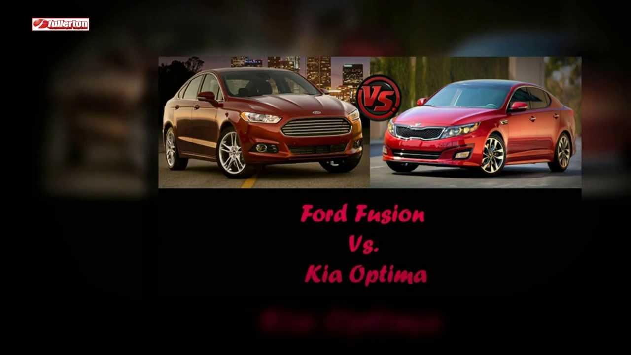 ford fusion vs kia optima vehicle comparison youtube. Black Bedroom Furniture Sets. Home Design Ideas
