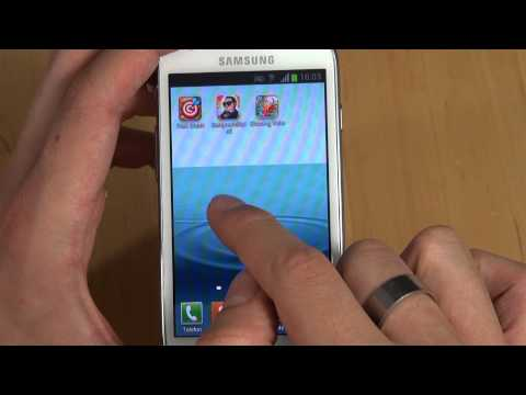 Samsung Galaxy S3 mini - Bedienung - Teil 2