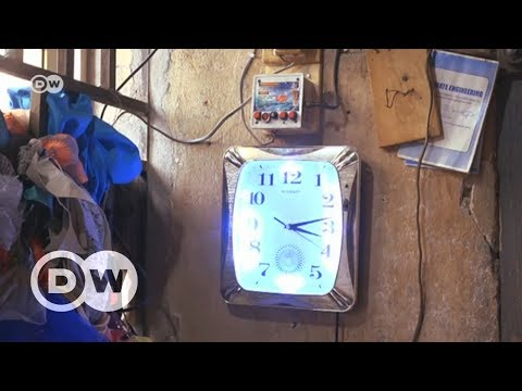 Nigeria's solar clock king | DW English