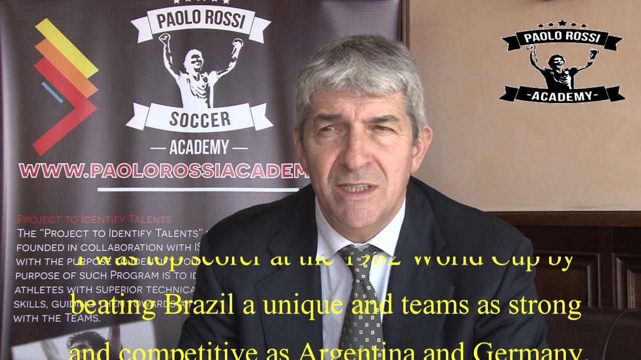 Paolo Rossi Academy Messaggio Inglese