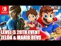 Nintendo Switch - 20th Anniversary Level-5 Event! Zelda/Mario Devs on Each Other's Games!