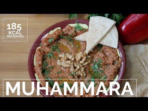 Muhammara - Roasted Bell Pepper Dip  - محمرة