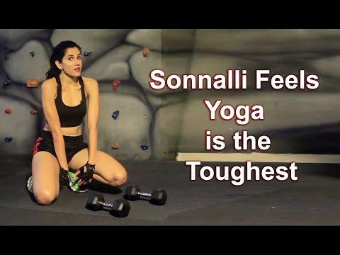 Sonnalli's HOT Workout : I Feel Yoga Is The Toughest