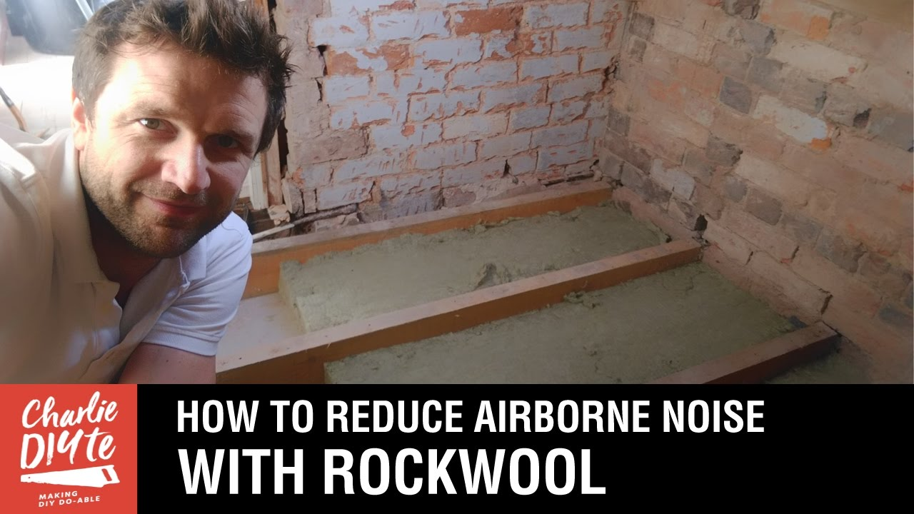 How To Reduce Airborne Noise Through A Timber Floor With Rockwool House Wiring Under Floorboards