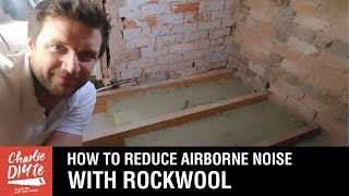 How to Reduce Airborne Noise through a Timber Floor with Rockwool