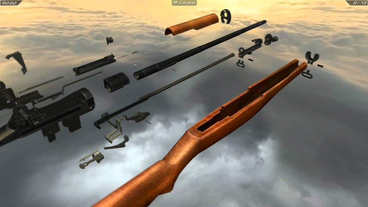 M1 Garand Full Disassembly And Operation