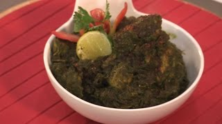 Indian Chicken Saagwala Recipe  By chef Harpal Singh  North Indian Style
