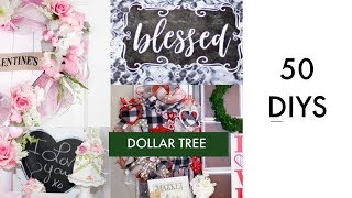 💖 50 DIY DOLLAR TREE VALENTINES & WINTER DECOR CRAFTS 💖 DECO MESH WREATH, CENTERPIECE