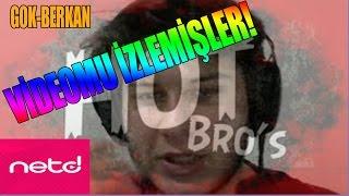 Hot Bro's Fırat ve Netd Müzik Videolarımı İzlemiş ! OHA !