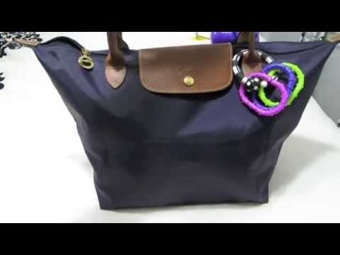 Samorga in Longchamp Le Pliage for Diaper Bag - YouTube 5bbf6d4bff66d