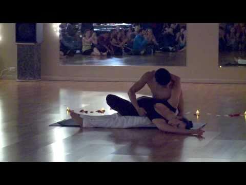 Nery & Giana Bachata/Acro-Yoga Routine