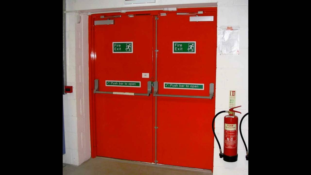 The Weakerthans This Is A Fire Door : Fire rated door singapore youtube