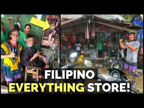 LOCAL FILIPINO SARI-SARI MOTOR STORE WITH EVERYTHING   Fighter Boys   WILD MASBATE