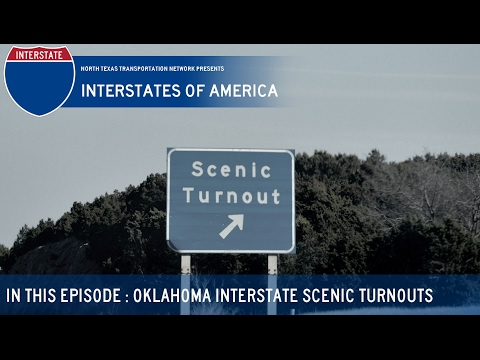 Interstates of America : Oklahoma Scenic Turnouts