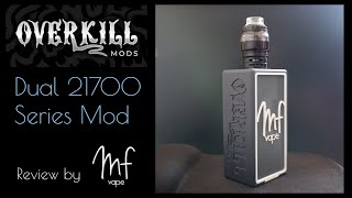 Custom Designed Overkill Mods Dual 21700 Series Bod Mod | Full Review