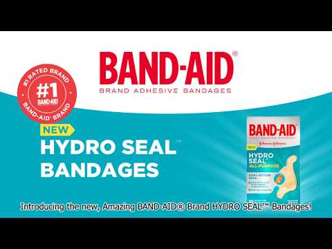 Explore the 6 Benefits of the New, Amazing BAND-AID® Brand HYDRO SEAL™ Bandages!