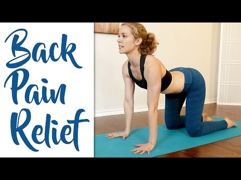 Fast Lower Back Pain & Sciatica Pain Relief – Beginners Yoga Stretches and Poses