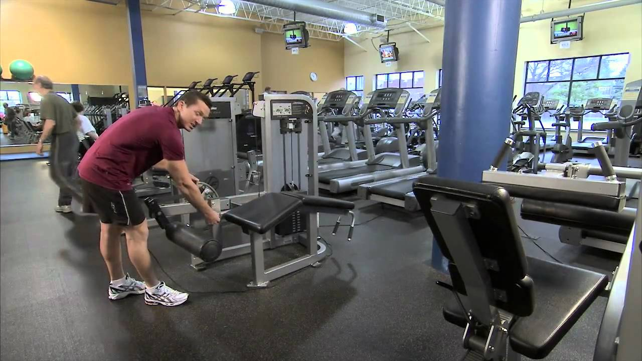 leg curl machine instructions