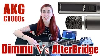 AKG C1000S Multi Purpose Condenser Mic - Dimmu Borgir Vs Alter Bridge