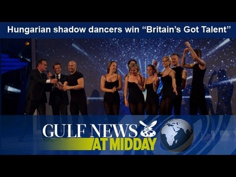 "Hungarian shadow dancers win ""Britain's Got Talent"" - GN Midday Sunday June 9 2013"