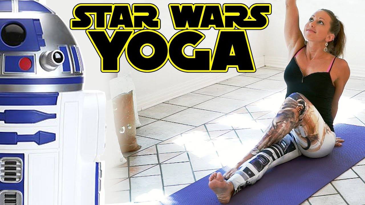 Star Wars Yoga For Beginners Workout For Weight Loss ...