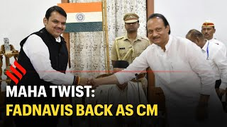 Devendra Fadnavis takes oath as Maharashtra CM, NCP's Ajit Pawar as his deputy
