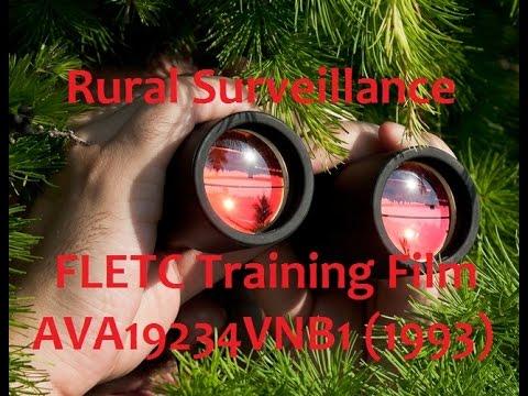 Rural Surveillance - Federal Law Enforcement Training Center
