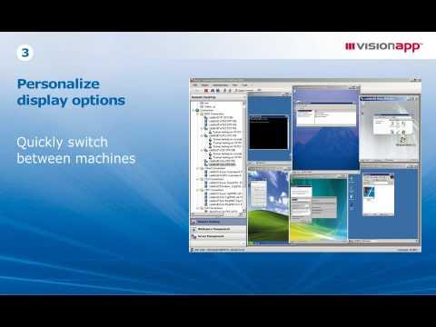 visionapp Remote Desktop 2010 - the Universal Admin Cockpit