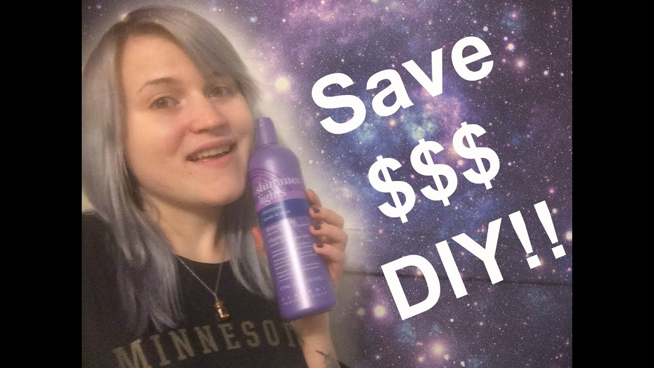 how to use purple shampoo to tone hair