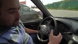 honda CRV 2001 года обзор и лёгкий тролинг