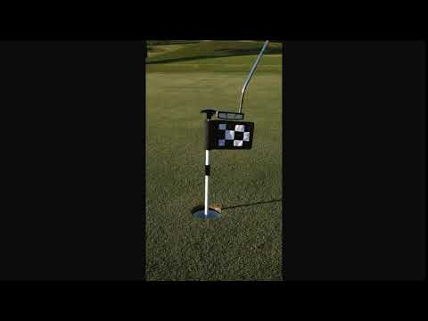 The PutterUP Practice Green Flagstick from PushNPutt Golf Products, LLC