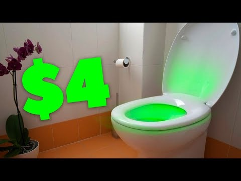 Подсветка для туалета, и другие вещи с ALIEXPRESS