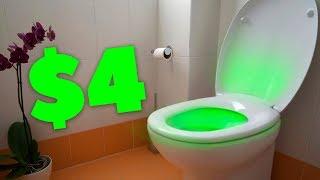 Подсветка для туалета и другие вещи с Aliexpress