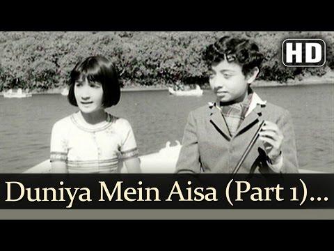 Duniya Mein Aisa Kaha Part 1 HD  Devar   Dharmendra  Sharmila Tagore  Lata Mangeshkar