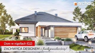 Nowoczesny Dom Z Efektownymi Przeszkleniami Dom W Jaskierkach G2
