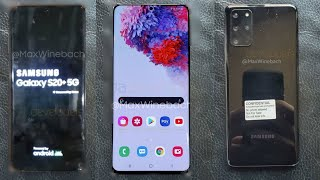 Samsung Galaxy S20 Plus (S11) - FIRST LIVE LOOK