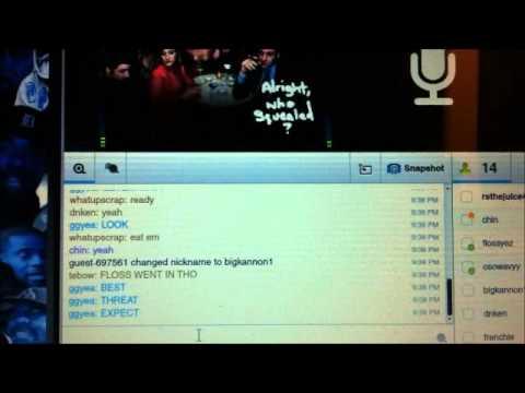 Wavy vs Flossey - Tiny Chat Rap Battle League - TheBlueRume