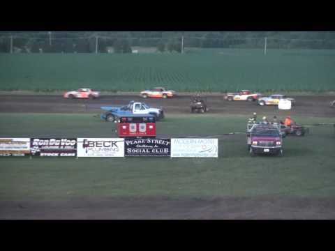 IMCA Hobby Stock feature Benton County Speedway 6/25/17