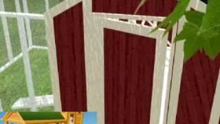 Chicken House Plans - A 3D Walkthrough