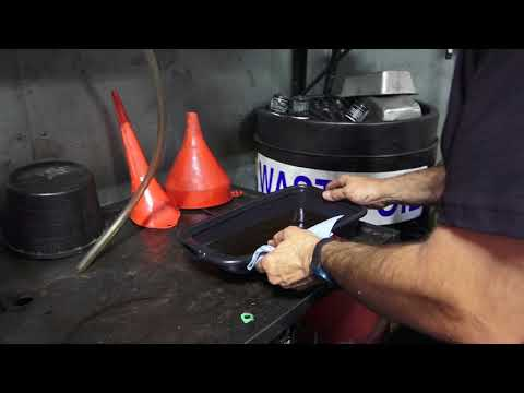 Low Profile Oil Pan for Scooters